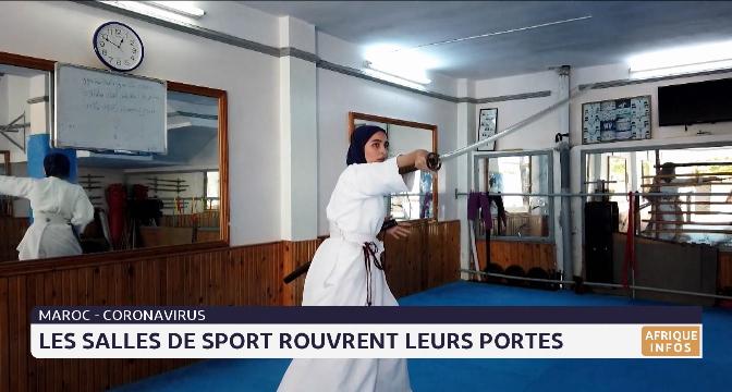 Covid-19: les salles de sport rouvrent leurs portes
