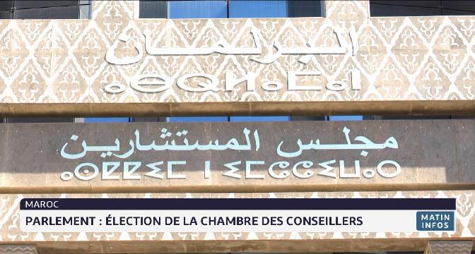Parlement: élection de la chambre des conseillers