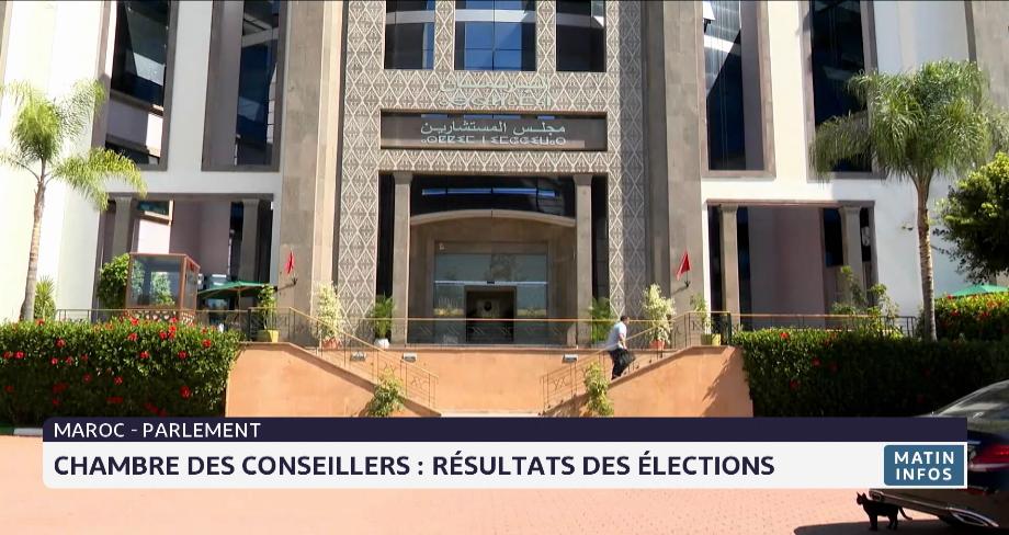 Chambre des conseillers: voici les résultats des élections