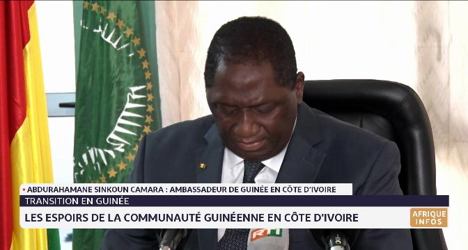 Les espoirs de la communauté guinéenne en Côte d'ivoire