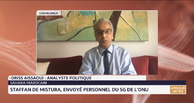 Sahara marocain: Staffan de Mistura, Envoyé spécial du SG de l'ONU. Décryptage Driss Aissaoui