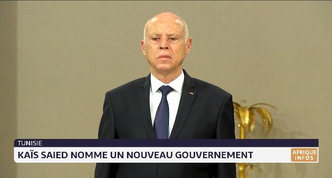 Tunisie: Kais Said nomme un nouveau gouvernement