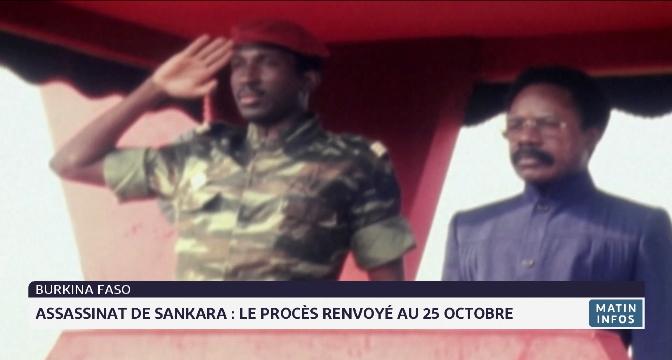 Assassinat  de Sankara: le procès renvoyé au 25 octobre