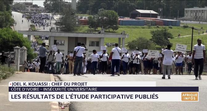 Côte d'Ivoire- insécurité universitaire: les résultats de l'étude participative publiée