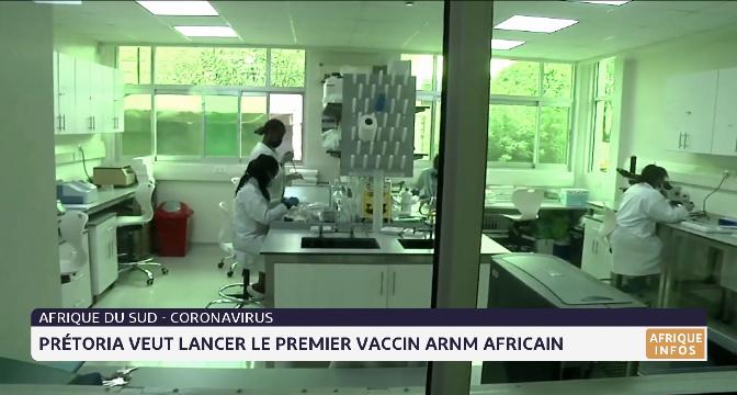Coronavirus: l'Afrique du Sud veut lancer le premier vaccin ARNM Messanger