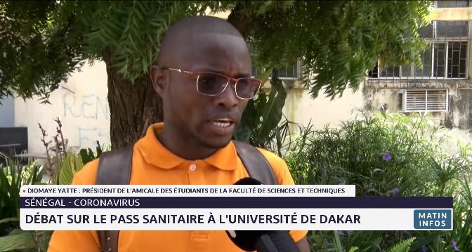 Sénégal: débat sur le pass sanitaire à l'université de Dakar