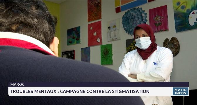 Troubles mentaux : campagne contre la stigmatisation