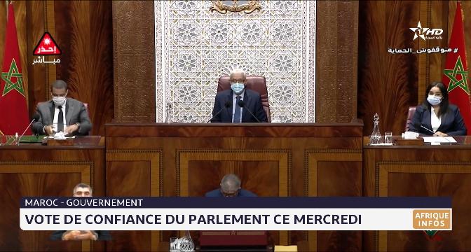 Maroc: vote de confiance du parlement ce mercredi