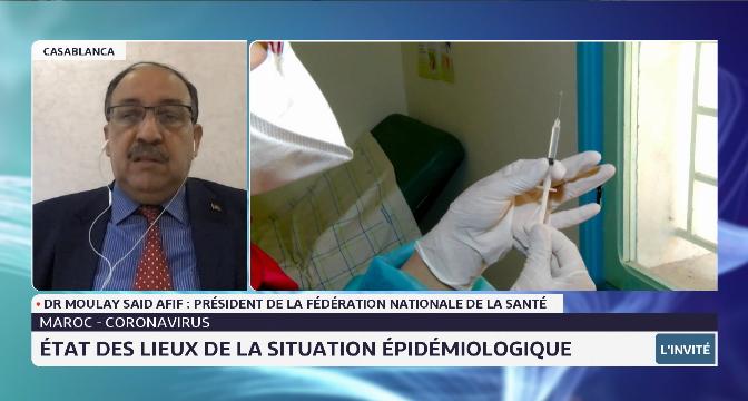 Situation épidémiologique au Maroc: état des lieux et perspectives avec Dr. Moulay Said Afif