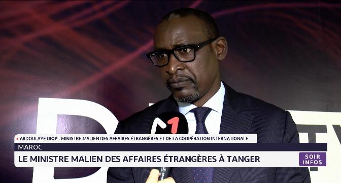 Le ministre malien des affaires étrangères effectue une visite au siège de Medi1