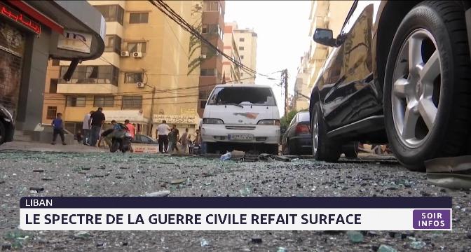 Liban: le spectre de la guerre civile refait surface