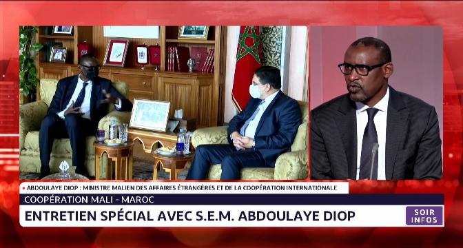 Sahara marocain: le ministre malien des AE réitère la position constante de son pays en faveur d'une solution politique, juste et durable
