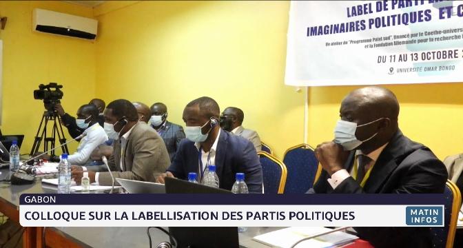 Gabon: colloque sur la labellisation des partis politiques