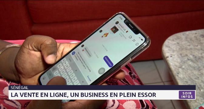 Sénégal: la vente en ligne, un business en plein essor