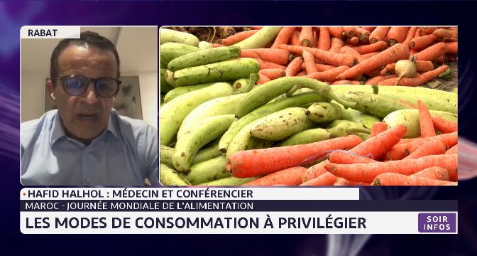 Maroc-journée mondiale de l'alimentation: les modes de consommation à privilégier