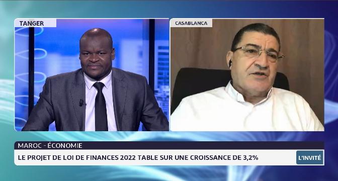 Maroc-Economie: le projet de loi de finances 2022 table sur une croissance de 3,2%
