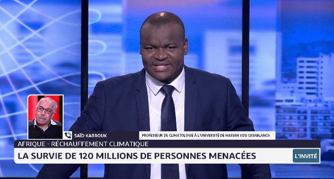 Afrique- réchauffement climatique: la survie de 120 millions de personnes menacées
