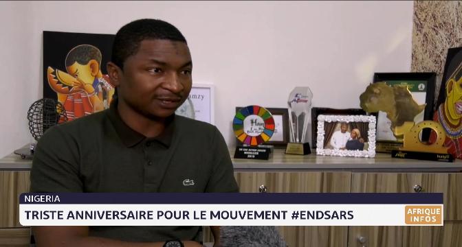 Nigéria: triste anniversaire pour le mouvement ENDSARS