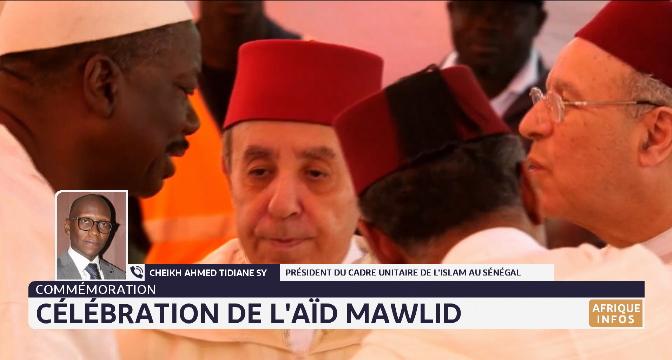 Commémoration: célébration de l'Aïd Mawlid Annabaoui