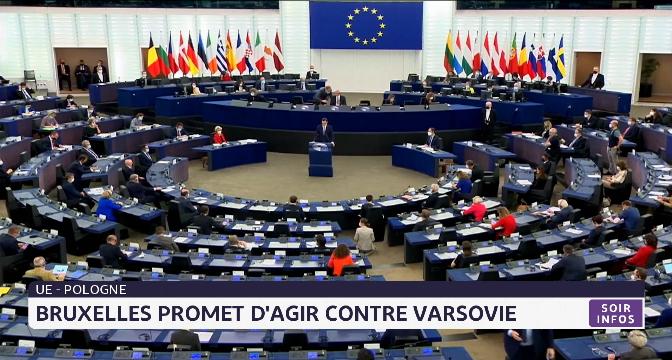 UE-Pologne: Bruxelles promet d'agir contre Varsovie
