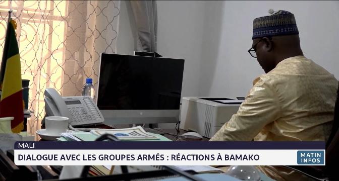 Dialogue avec les groupes armés : réactions à Bamako