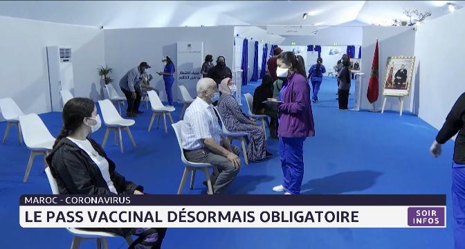 Covid-19: le pass vaccinal désormais obligatoire au Maroc