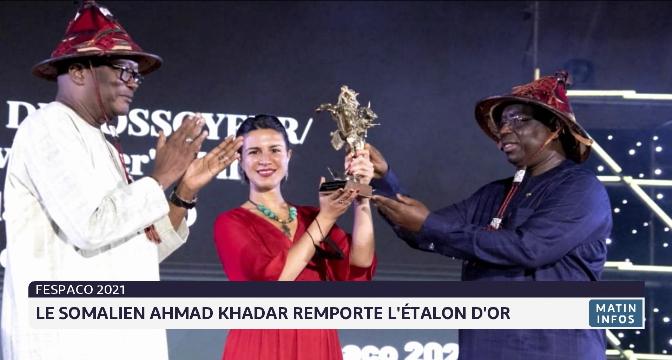 FESPACO 2021: le Somalien Ahmad Khadar remporte l'étalon d'or