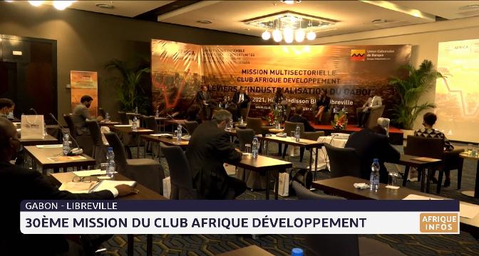 Gabon-Libreville: 30ème mission du Club Afrique Développement