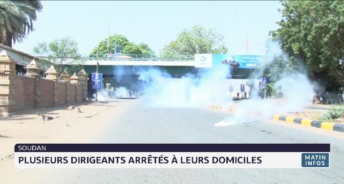 Soudan: plusieurs dirigeants arrêtés à leurs domiciles