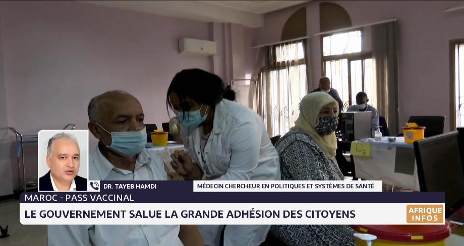 Maroc- pass vacinal: le gouvernement salue la grande adhésion des citoyens