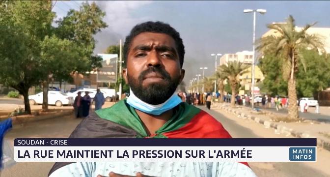 Soudan-crise: la rue maintient la pression sur l'armée