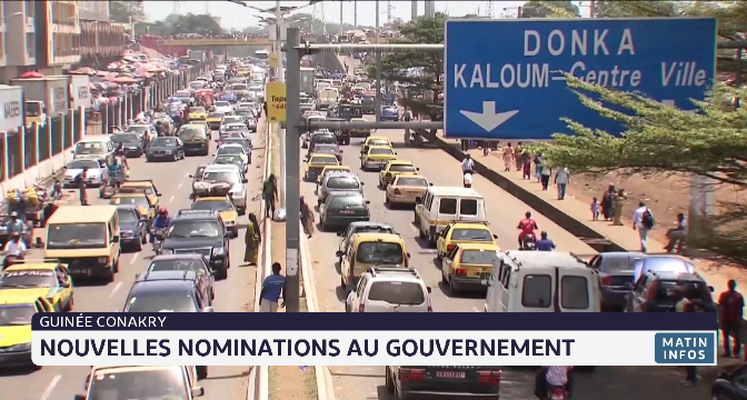 Guinée: nouvelles nominations au gouvernement
