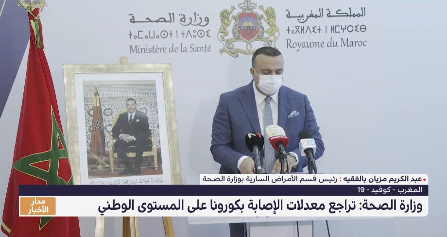 تراجع معدلات الإصابة بـكورونا في المغرب للأسبوع الحادي عشر على التوالي