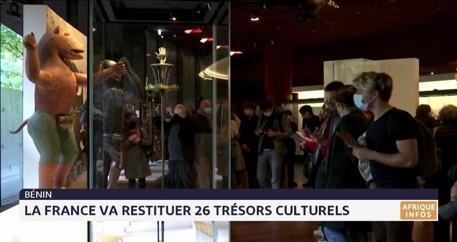 Musée du quai Branly: la France va restituer 26 trésors culturels au Bénin