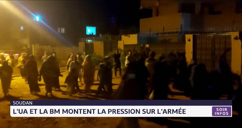 Soudan: l'UA et la BM montent la pression sur l'armée