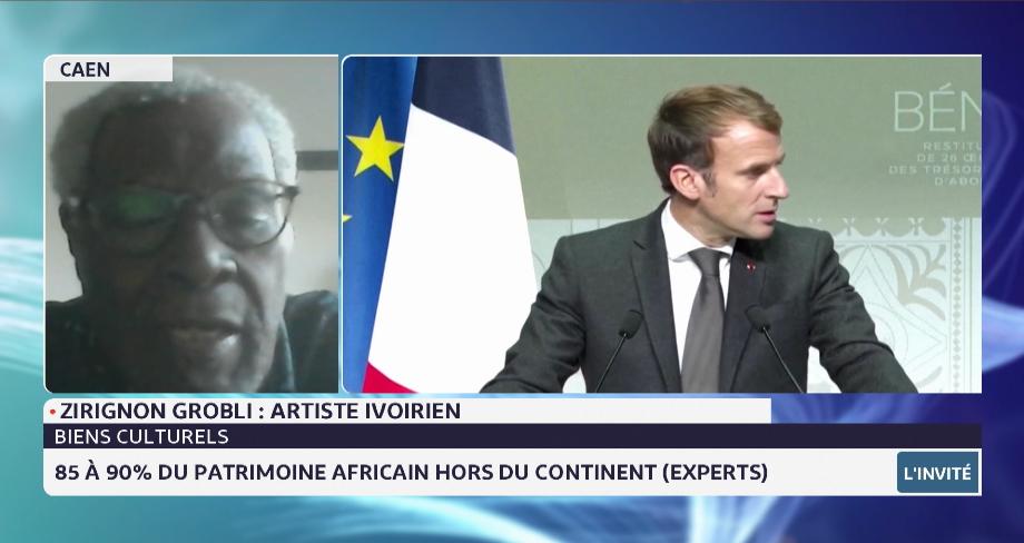 France: restitution au Bénin de 26 œuvres des trésors royaux d'Abomey. Le point avec Zirignon Grobli