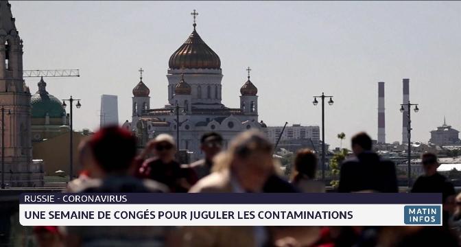Russie: une semaine de congés pour juguler les contaminations