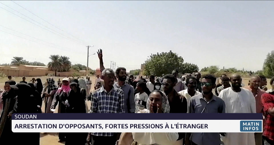 Soudan: arrestation d'opposants, fortes pressions à l'étranger