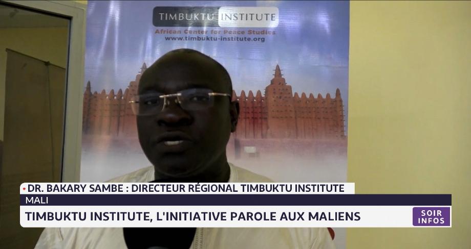 """Timbuktu Institute: l'initiative """"Parole aux Maliens"""""""