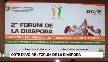 Cote D'ivoire .. La deuxième édition du forum de la diaspora