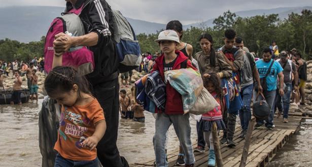 Environ 14,6 millions de déplacés en six mois dans le monde