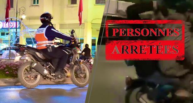 تفاصيل تدخل أمني لفرقة الدراجيين بالبيضاء مكن من توقيف شخصين على متن دراجة نارية