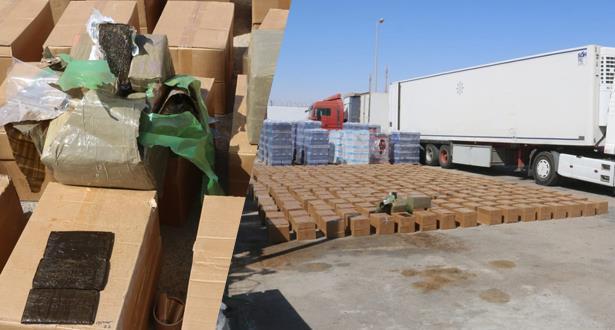 Guergarat : saisie de 6,3 tonnes de hachich à bord d'un camion à destination d'un pays africain