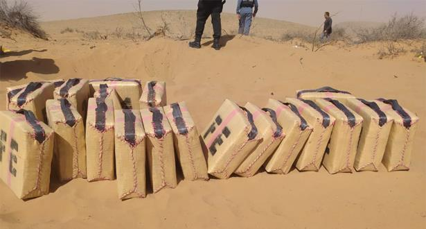 Guelmim: la brigade de la police judiciaire saisit plusieurs colis de stupéfiants et autres objets suspects
