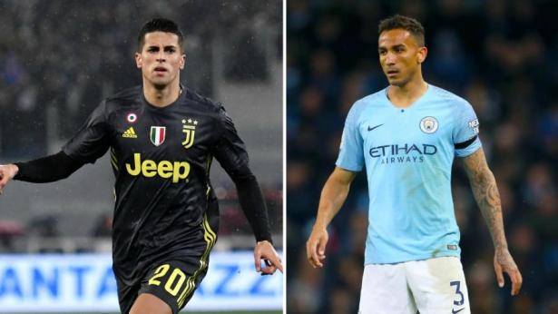 Football: l'échange Danilo-Joao Cancelo officialisé entre Manchester City et la Juventus