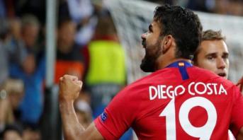 هدف كوستا في ريال مدريد يدخله التاريخ