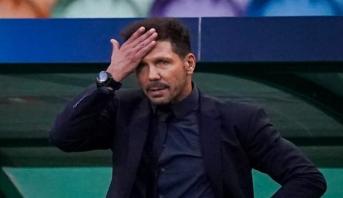 L'entraîneur de l'Atlético Madrid Diego Simeone positif au nouveau coronavirus