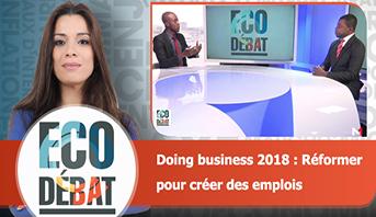 Eco Débat > Doing business 2018 : Réformer pour créer des emplois