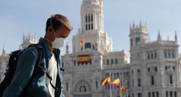 إسبانيا .. رقم قياسي جديد في حالات الإصابة الجديدة بكوفيد 19