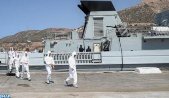"""""""الأسد الإفريقي 2019"""" عملية تطهير بالميناء العسكري لأكادير"""